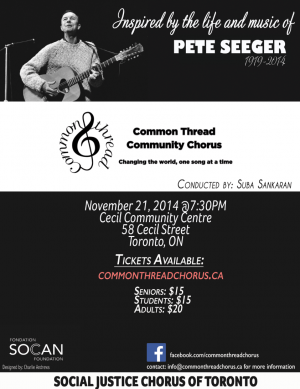 2014 Pete Seeger tribute concert