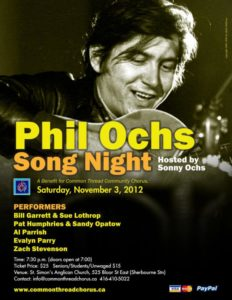 Phil Ochs song night